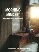 10-27-18 Morning Mindset Christian Daily Devotional