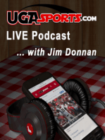 UGASportsLIVE, Episode 563 with Jim Donnan and Russ Tanner
