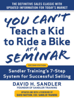 You Can't Teach a Kid to Ride a Bike at a Seminar, 2nd Edition
