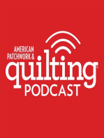 11-21-16 Brenda Ratliff, Roseann Kermes, and Bill Volckening join Pat Sloan on American Patchwork and Quilting Radio