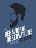 Session 9 - Manny Rodriguez talk all things Organizational Behavior Management
