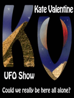Kate with Dr. David Jacobs one of the foremost UFO abduction researchers worldwide.