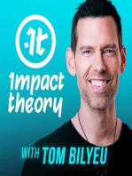 How To Do Mental Jiu Jitsu & Remove Negative Thoughts | Tom Bilyeu AMA