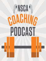 NSCA's Coaching Podcast, Episode 9
