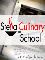 SCS 048 | Culinary Boot Camp Day Two - S is for Sauce Part 2