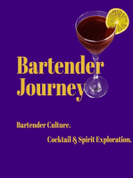 Multi-Award Winning Bar Owner, Bartender Trainer and Cocktail Competition Judge