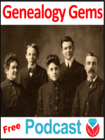 Episode 56 - The 2009 Genealogy Gems Christmas Podcast