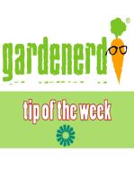 Toxic Gardening Equipment