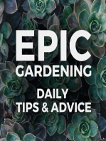 Gardening Indoors in the Fall and Winter