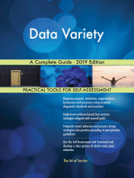 Data Variety A Complete Guide - 2019 Edition
