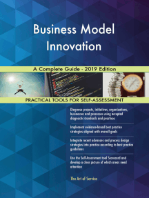 Business Model Innovation A Complete Guide - 2019 Edition