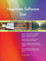 Negotiate Software Use A Complete Guide - 2019 Edition
