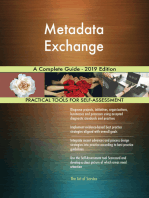 Metadata Exchange A Complete Guide - 2019 Edition