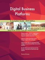 Digital Business Platforms A Complete Guide - 2019 Edition