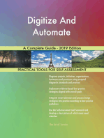 Digitize And Automate A Complete Guide - 2019 Edition