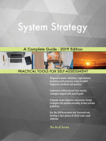 System Strategy A Complete Guide - 2019 Edition