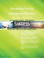 Information Product Management Function A Complete Guide - 2019 Edition