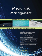Media Risk Management A Complete Guide - 2019 Edition