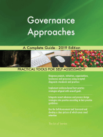 Governance Approaches A Complete Guide - 2019 Edition