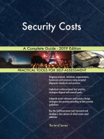 Security Costs A Complete Guide - 2019 Edition