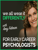 #51 – Early Career Psychologist Series, Chapter 4 – Rose Evans and Anastasia Hronis