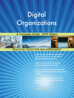 Digital Organizations A Complete Guide - 2019 Edition