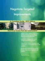 Negotiate Targeted Improvements A Complete Guide - 2019 Edition