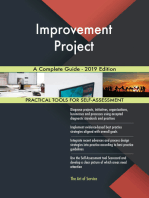 Improvement Project A Complete Guide - 2019 Edition