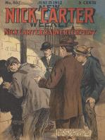 Nick Carter's Advertisement (Nick Carter #807) Nick Carter 807 - Nick Carter's Advertisement