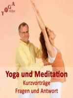 Meditieren und Wandern