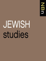 "Saskia Coenen Snyder, ""Building a Public Judaism"" (Harvard UP, 2013)"