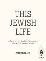 Core Beliefs of Judaism Part 5