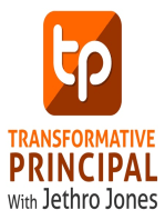 Invitation Only Parent Teacher Conferences with Jay Posick Transformative Principal 254