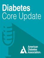 Diabetes Core Update – July 2019