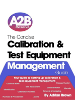 The Concise Calibration & Test Equipment Management Guide: The Concise Collection, #1
