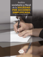 Análisis societario y fiscal de la sociedad por acciones simplificada 2019