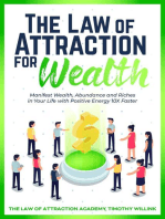 The Law of Attraction for Wealth