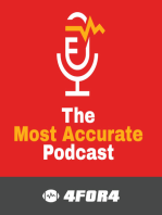 2016E05 The Most Accurate Podcast -- 4for4.com Fantasy Football