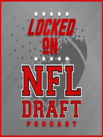 Locked on NFL Draft - 2/19/18 - Previewing and predicting day one of the NFL Combine - RBs and OL
