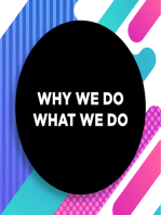 017 | Issues in Gender and Sexuality | Why We Do What We Do