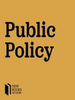 "Paul Bonin-Rodriguez, ""Performing Policy"" (Palgrave, 2014)"