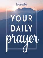 A Prayer of Rejoicing for God's Blessings