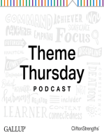 Focus - A Laser Beam to What Matters - Gallup Theme Thursday Season 2