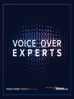Visual Branding for Voice Over Talents