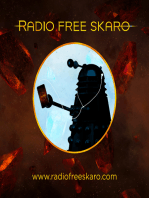 Radio Free Skaro #474/A - Easy Laughter with Rob Shearman