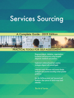 Services Sourcing A Complete Guide - 2019 Edition