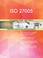 ISO 27005 A Complete Guide - 2019 Edition