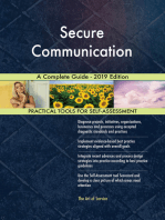Secure Communication A Complete Guide - 2019 Edition