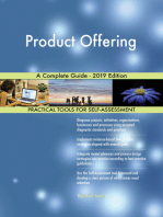 Product Offering A Complete Guide - 2019 Edition