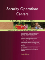 Security Operations Centers A Complete Guide - 2019 Edition